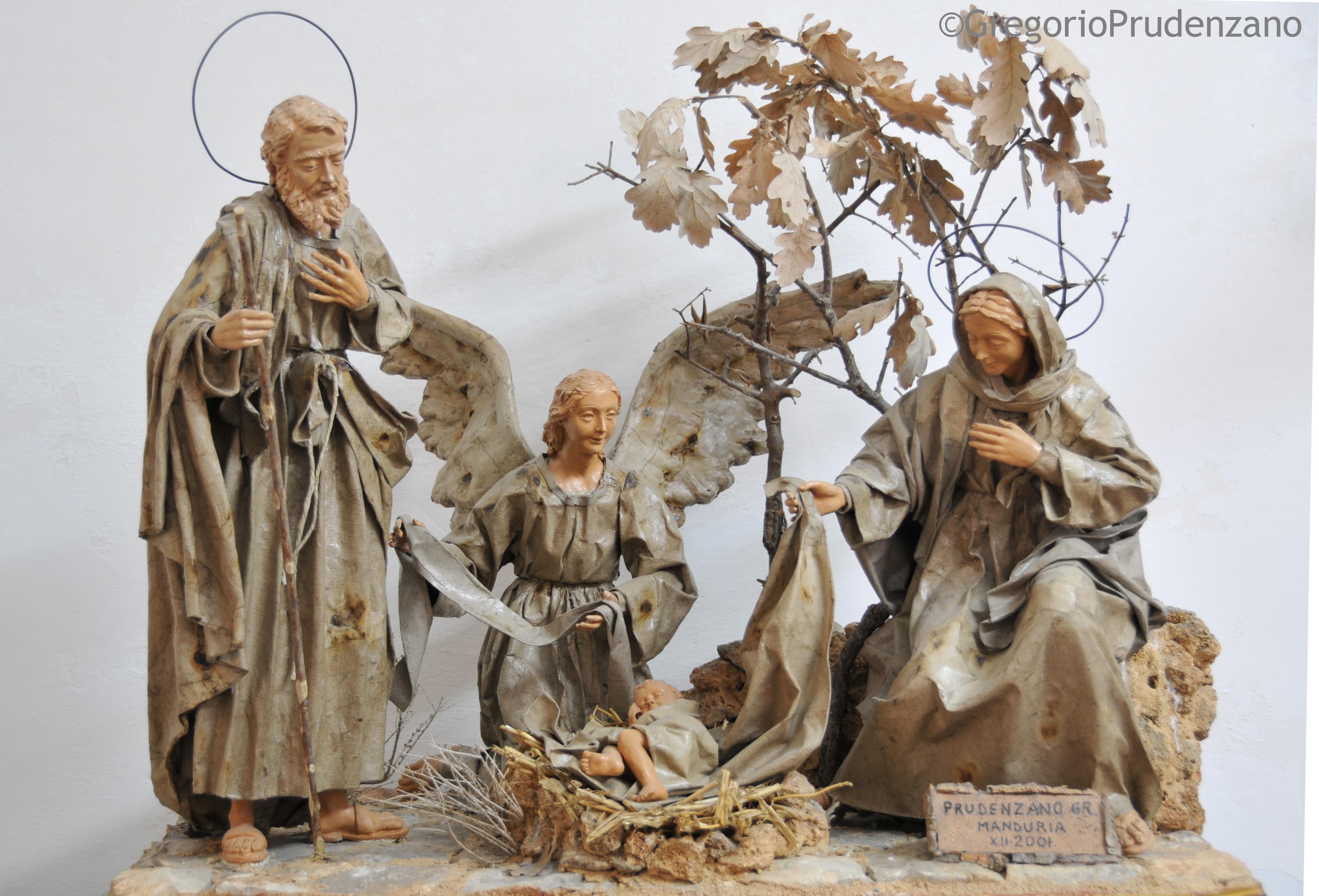 Presepi gregorio prudenzano presepi e statue in cartapesta for Cartapesta leccese tecnica