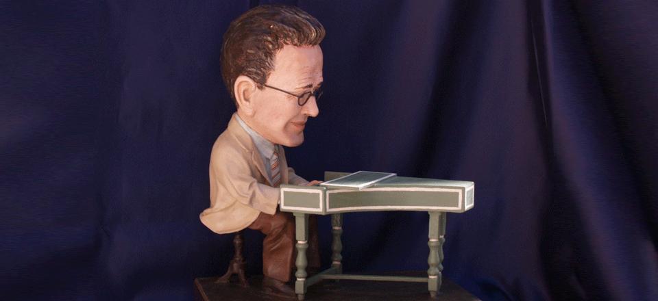 Caricature medico pianista